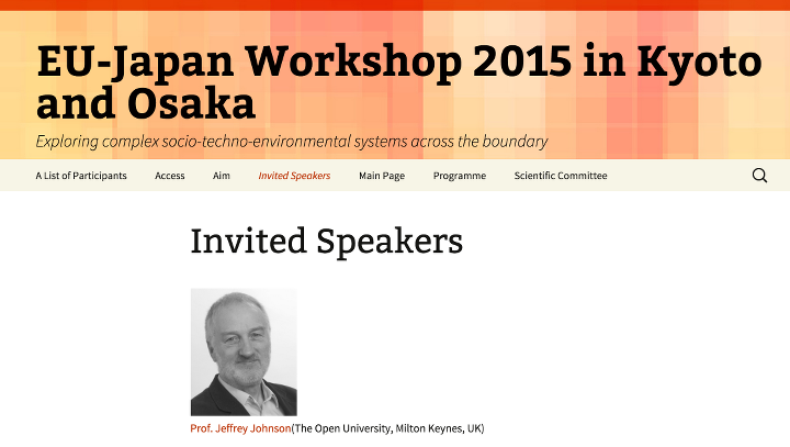 EU-Japan Workshop 2015